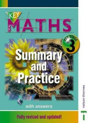 Key Maths KS3 Summary and Practice - Revised: Summary and Practice with Answe.