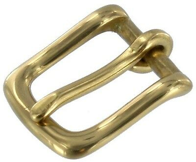 "Two 3/4"" OEM Replacement Solid Brass / Nickel BUCKLES For Coach Strap / Belt"