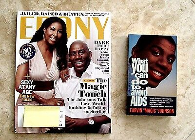 Ebony Magazine July 2014 Magic Cookie Johnson What You Can Do To Avoid Aids Book