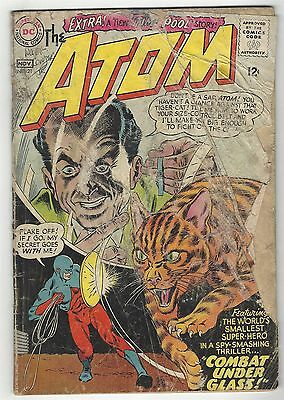 Atom 21! Fr 1.0! Great Silver Age Dc Comic Book!