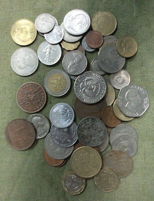 #c30. #2. Lot Of 50 World Coins