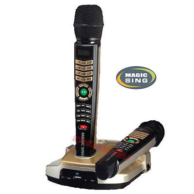 Magic Sing Et23K Special - 2 Wireless Mics 5145 Songs / Download Option & Hdmi