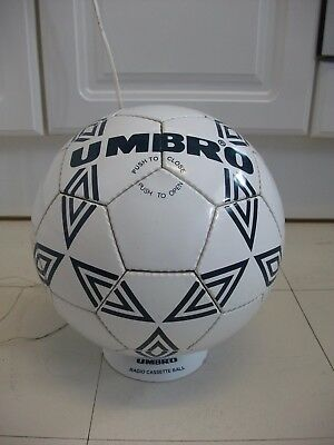 Rare Vintage Umbro Football Novelty Ball Stereo Cassette Player Radio