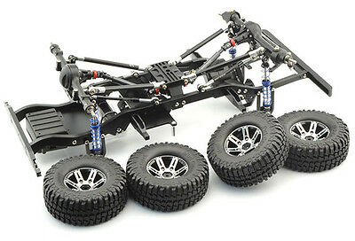 D90 1:10 Scale Body Frame W/Wheels Set Xtra Speed RC Crawler 280mm D9001