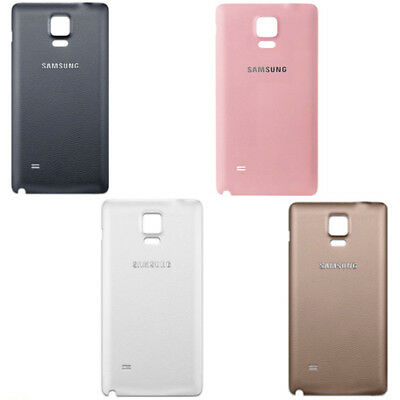 Samsung Galaxy Note 4 SM-N910F Replacement Battery Back Cover Rear Door Case New