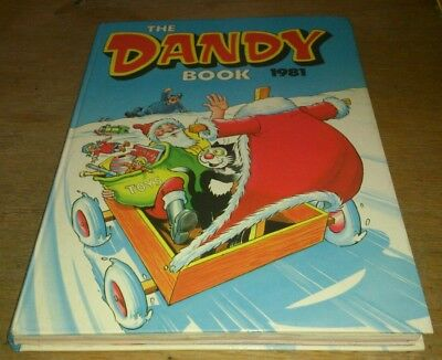 Dandy Annual 1981