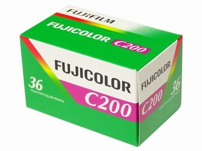 Fujifilm Fujicolor C200 - 36exp 35mm Color Negative Film 2019 Expiry