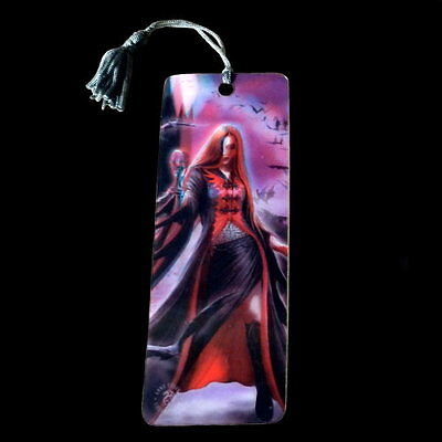 *BLOOD MOON* Gothic Fantasy Vampire Art 3D Bookmark By Anne Stokes (15.5x5.5cm)