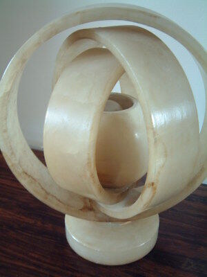 Vintage Art Deco 1930s 'Saturns rings' table light.