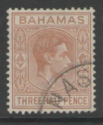 BAHAMAS SG151a 1948 1½d PALE RED-BROWN FINE USED