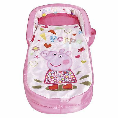 Peppa Pig My First Ready Bed Inflatable Sleeping Bag New Bedding