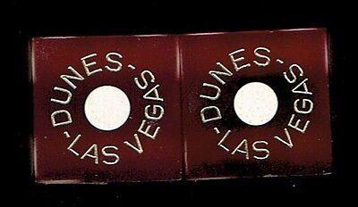 Dunes Hotel Casino Las Vegas Strip,  Pair Of Dice