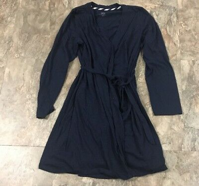 Bump In The Night Navy Robe Size M