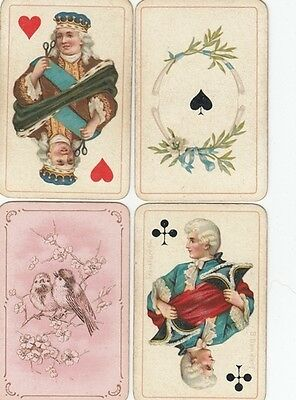 2445. Dondorf: No 163 Baroness Patience  52/52 Playing Cards 1900