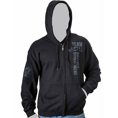 Arctic Cat Men's Team Arctic Racing Dept. Full-Zip Hoodie - Black - 5259-61_