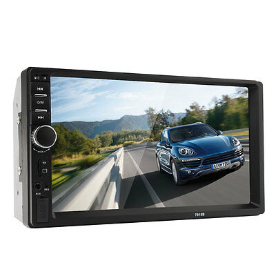 "7"" 2din HD RADIO DEL COCHE FM MP5 MP3 Reproductor Bluetooth USB/ auxiliar/ TF /"