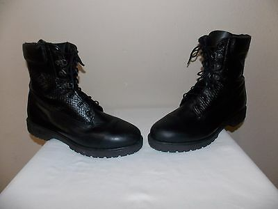 """Rocky """"1940"""" 400 Grams Thinsulate Sport Work Black Leather Boots (Men 12 MW)"""