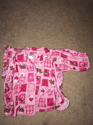 Winter Pajamas Size 3T-pink And Red