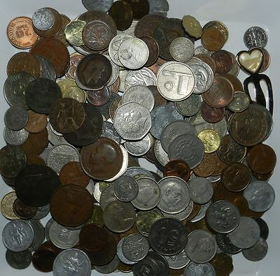 Lot Of 200 Plus  World Coins