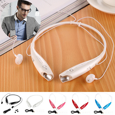 Stereo Bluetooth Wireless Headset Headphone Earphone Sport Handfree Universal