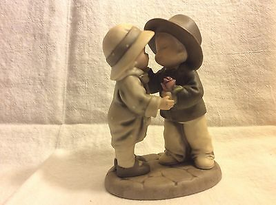 A Rose For A Kiss How Can I Miss By Kim Anderson #175307 Porcelain!!!