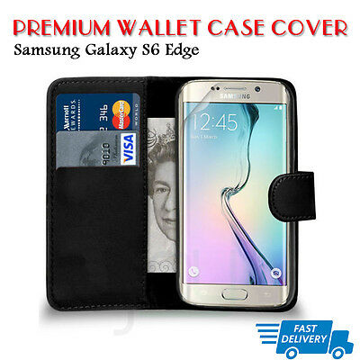 Flip Wallet Leather Case Cover For Samsung Galaxy S6EDGE (B08