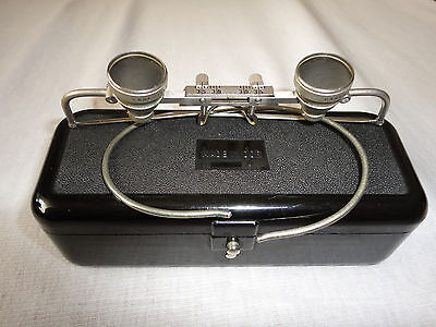 Vintage CARL ZEISS JENA 2 x Made in DDR LOUPES MAGNIFYING GLASSES - TOP -