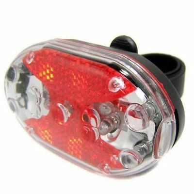 New Cycling Bike Bicycle 9 LED Taillight Safety Warning Lamp Rear Light R