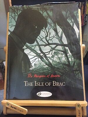 The Marquis Of Anaon: The Isle Of Brac Cinebook