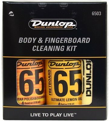 NEW - Dunlop Body and Fingerboard Cleaning Kit, #6503