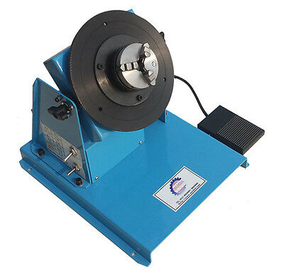 Light Duty Welding/Soldering Displacement Turntable Positioner @ 80mm/65mm Chuck