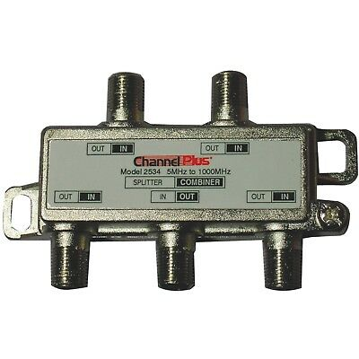 Channel Plus 2534 Splitter/Combiner,  4-Way