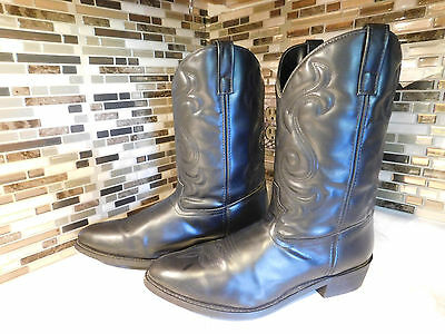 Mens Leather Cowboy Boots Size 15 Ee