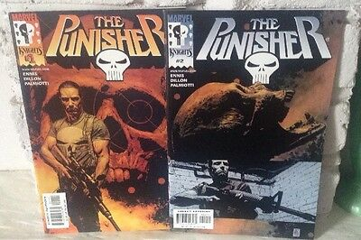 THE PUNISHER Vol. 5 (2000)  #1 & 2 - Marvel Knights (Limited Avail. In UK)