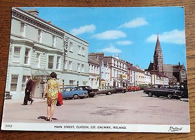 Vintage postcard Clifden Co.Galway Ireland Eire