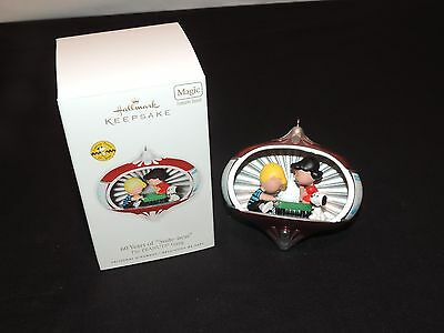 Hallmark Peanuts Snoopy Schroeder Lucy Piano 60 Years Of Suite-ness Ornament