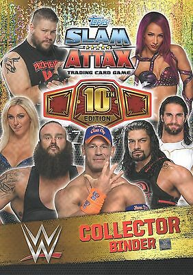 Slam Attax 10th EDITION   RING MAT & DC CARDS CHOOSE