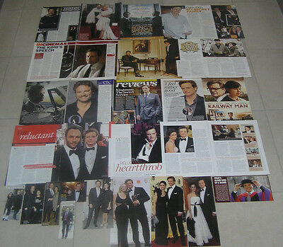 30 Colin Firth Aussie And British Clippings
