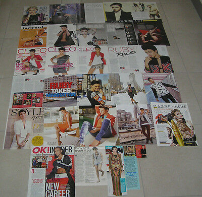 30 Ruby Rose Aussie Clippings