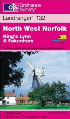 North West Norfolk: King's Lynn and Fake... by Ordnance Survey Sheet map, folded