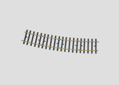 "Marklin 59074 G / #1 Scale 61"" Radius 15 Degree Curved Track  Section"