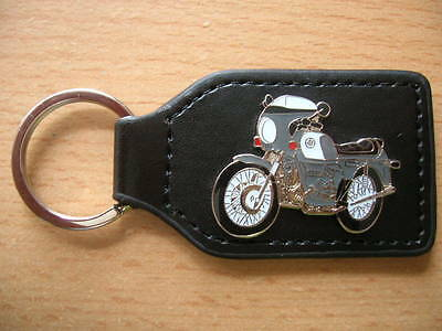 gb Cherished Number Plate Leather Keyring For Bmw R906 Owners Bmw R90 6 Reg