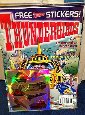 Thunderbirds Redan Comic Issues 26 with free gift Gerry Anderson