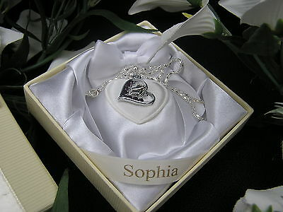 Footprints On My Heart Crystal  Keepsake - Loss of Loved OneTEENAGE CANCER TRUST