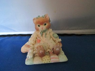 Calico Kittens figure You'll Always Be Close to My Heart 1992 numbered