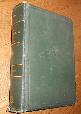 1909 Antique Book Diseases of the Nose Throat and Ear Medical & Surgical