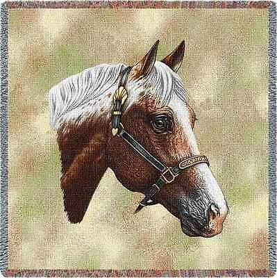 Lap Square Blanket - Appaloosa by Robert May 1740