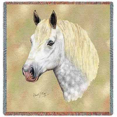 Lap Square Blanket - Percheron by Robert May 2371
