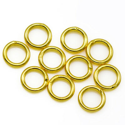 Gold Vermeil Sterling Silver Soldered Closed Jump Rings Jewellery Findings