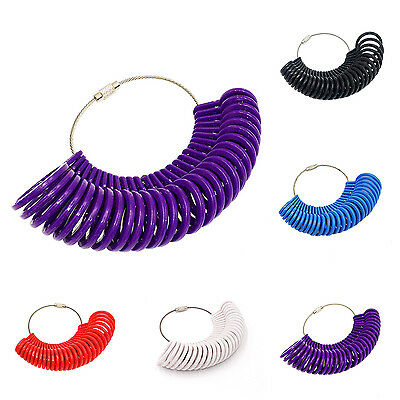 New Fashion Finger Ring Metal Meter Gauge Tools Measure Sizes For Jewelry CHIC